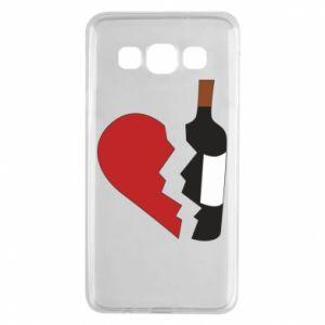 Etui na Samsung A3 2015 Wine broke my heart