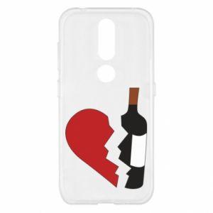 Etui na Nokia 4.2 Wine broke my heart