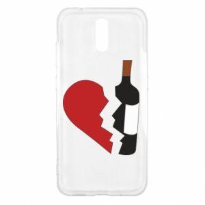 Etui na Nokia 2.3 Wine broke my heart