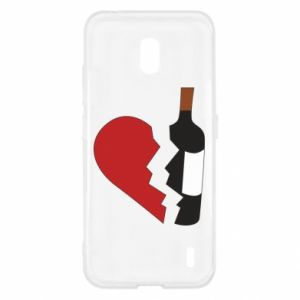 Etui na Nokia 2.2 Wine broke my heart