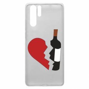 Etui na Huawei P30 Pro Wine broke my heart