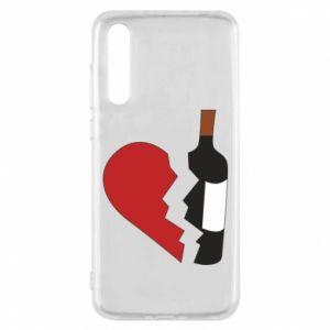 Etui na Huawei P20 Pro Wine broke my heart