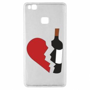 Etui na Huawei P9 Lite Wine broke my heart