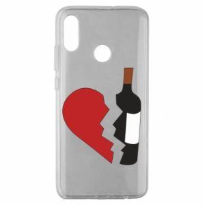 Etui na Huawei Honor 10 Lite Wine broke my heart