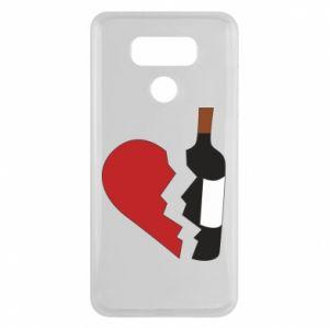 Etui na LG G6 Wine broke my heart