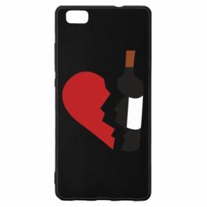 Etui na Huawei P 8 Lite Wine broke my heart