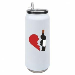 Puszka termiczna Wine broke my heart