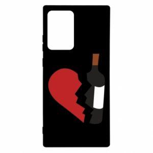 Etui na Samsung Note 20 Ultra Wine broke my heart