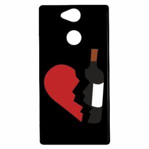 Etui na Sony Xperia XA2 Wine broke my heart