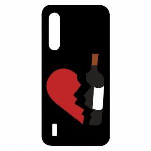 Etui na Xiaomi Mi9 Lite Wine broke my heart