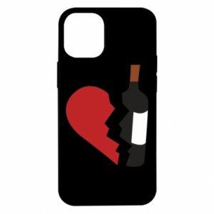 Etui na iPhone 12 Mini Wine broke my heart