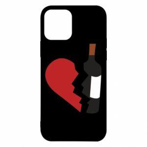 Etui na iPhone 12/12 Pro Wine broke my heart