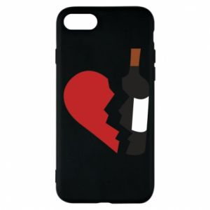 Phone case for iPhone 7 Wine broke my heart