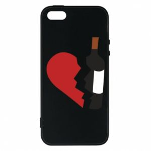 Phone case for iPhone 5/5S/SE Wine broke my heart