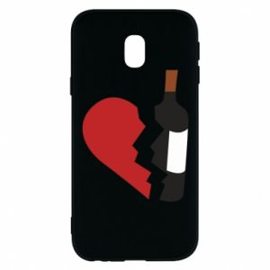 Phone case for Samsung J3 2017 Wine broke my heart