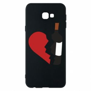 Phone case for Samsung J4 Plus 2018 Wine broke my heart