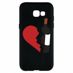 Phone case for Samsung A5 2017 Wine broke my heart
