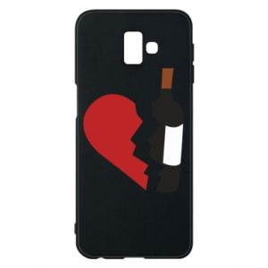 Phone case for Samsung J6 Plus 2018 Wine broke my heart