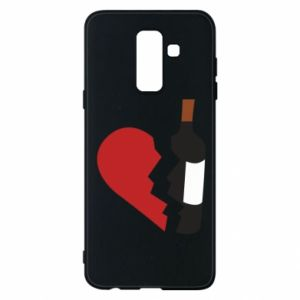 Phone case for Samsung A6+ 2018 Wine broke my heart