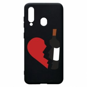 Phone case for Samsung A60 Wine broke my heart