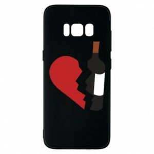 Phone case for Samsung S8 Wine broke my heart