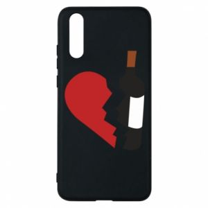 Phone case for Huawei P20 Wine broke my heart