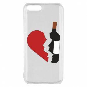 Etui na Xiaomi Mi6 Wine broke my heart