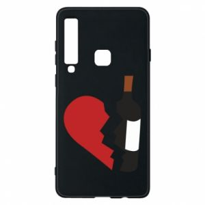 Phone case for Samsung A9 2018 Wine broke my heart