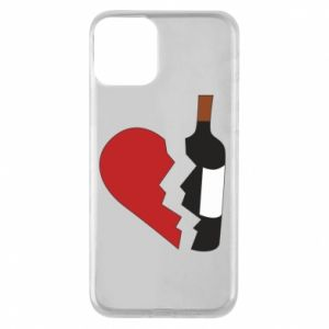 Phone case for iPhone 11 Wine broke my heart