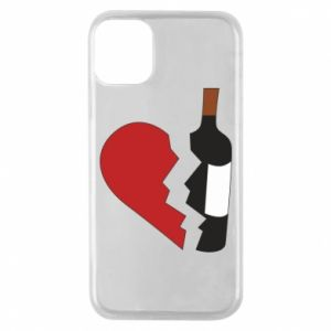 Phone case for iPhone 11 Pro Wine broke my heart