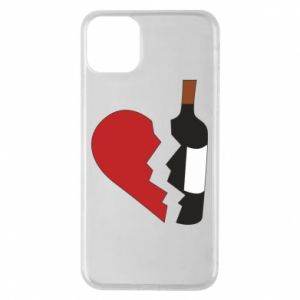 Phone case for iPhone 11 Pro Max Wine broke my heart