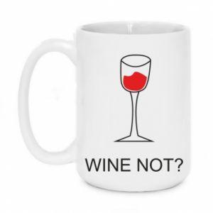 Mug 450ml Wine not - PrintSalon