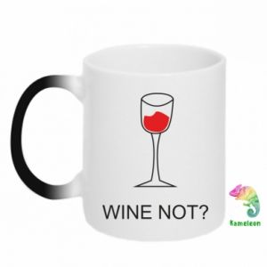Chameleon mugs Wine not