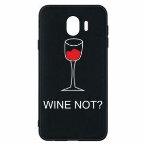Phone case for Samsung J4 Wine not - PrintSalon