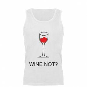 Men's t-shirt Wine not - PrintSalon