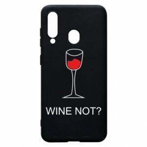 Phone case for Samsung A60 Wine not - PrintSalon