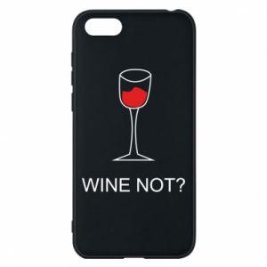 Phone case for Huawei Y5 2018 Wine not - PrintSalon