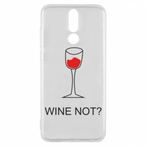 Phone case for Huawei Mate 10 Lite Wine not - PrintSalon