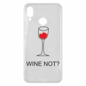 Phone case for Huawei P Smart Plus Wine not - PrintSalon
