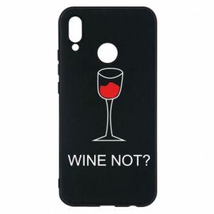 Phone case for Huawei P20 Lite Wine not - PrintSalon