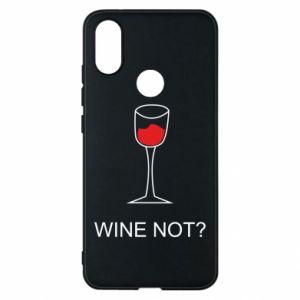 Phone case for Xiaomi Mi A2 Wine not - PrintSalon