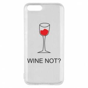 Phone case for Xiaomi Mi6 Wine not - PrintSalon