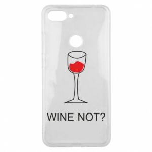 Phone case for Xiaomi Mi8 Lite Wine not - PrintSalon