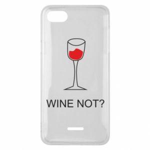 Phone case for Xiaomi Redmi 6A Wine not - PrintSalon