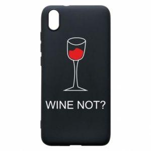 Phone case for Xiaomi Redmi 7A Wine not - PrintSalon