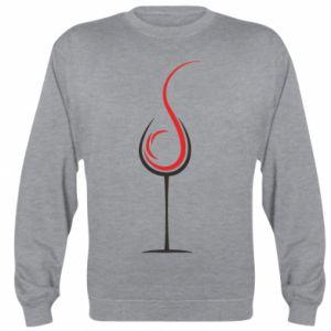 Bluza (raglan) Wine pours