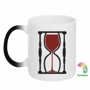 Kubek-kameleon Wine time
