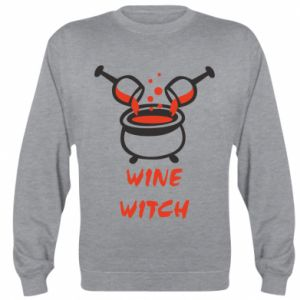 Sweatshirt Wine witch - PrintSalon