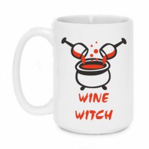 Mug 450ml Wine witch - PrintSalon