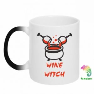 Chameleon mugs Wine witch - PrintSalon